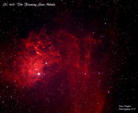 IC 405: The Flaming Star Nebula