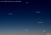 Comet ISON in the morning sky (22/11/13)